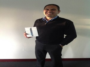 Fred Azzi iPod Winner